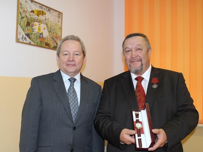 Раиль Хисматуллин получил награду от Минсельхоза РФ